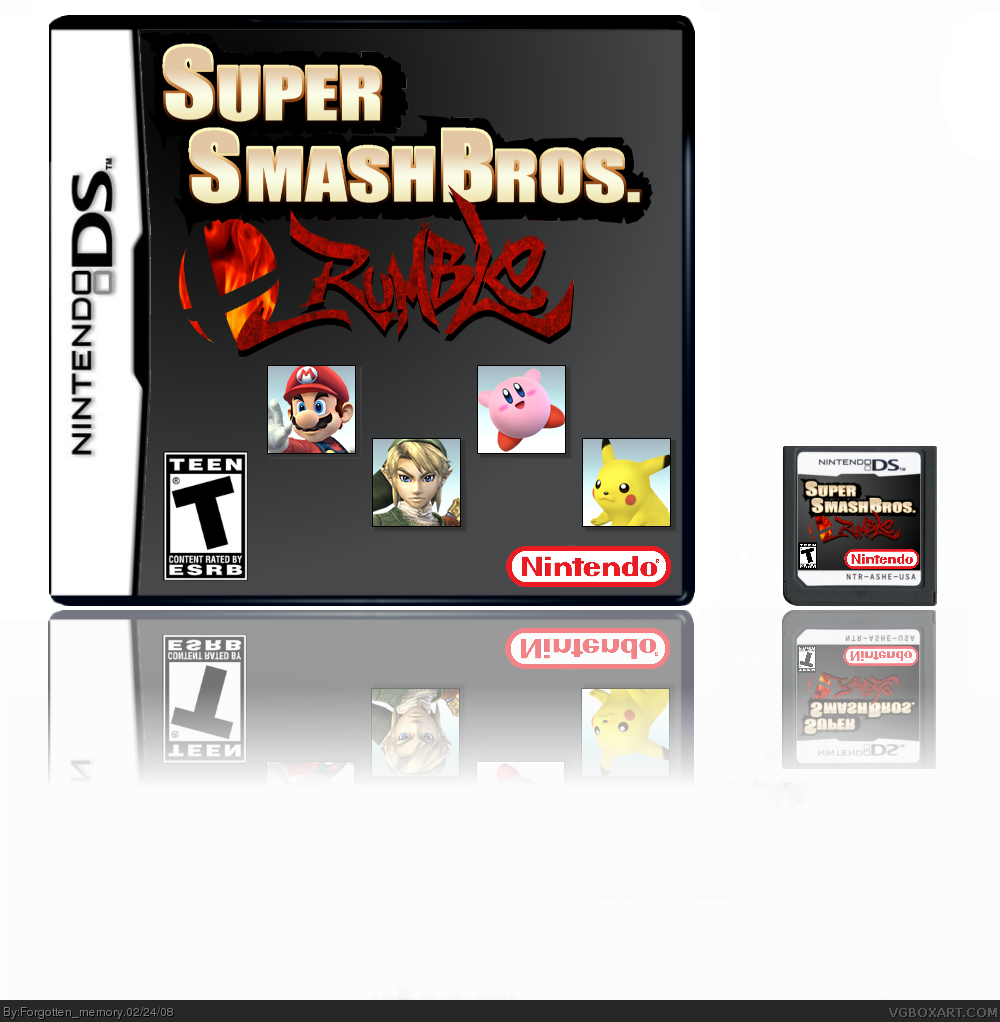 Super Smash Bros Rumble box cover