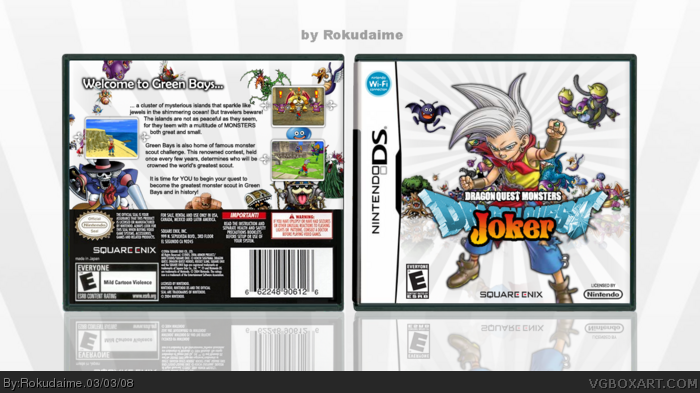 Nintendo DS » Dragon Quest Monsters - Joker Box Cover