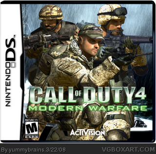 call of duty 4 nintendo ds