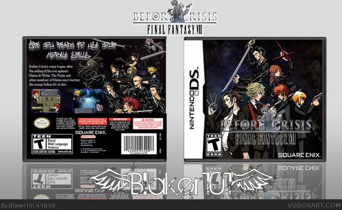 Nintendo DS » Before Crisis: Final Fantasy VII Box Cover