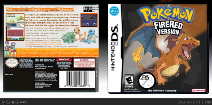 how to get pokemon fire red on 3ds