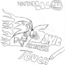 Sonic Adventure: Touch Box Art Cover