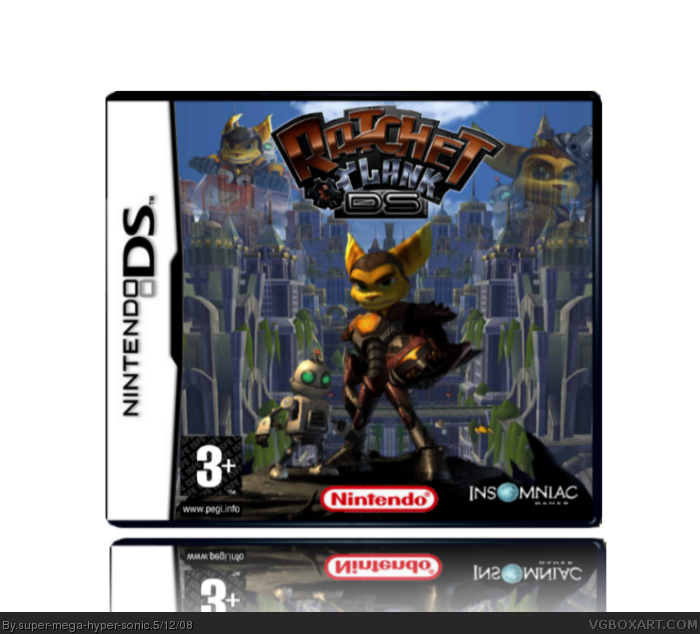 Ratchet and Clank DS box art cover