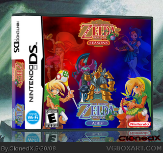 The Legend of Zelda: Oracle of Seasons - Ages box cover