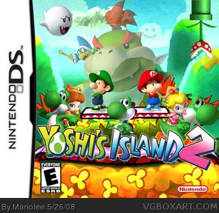 Portada falsa alternativa de Yoshi's Island