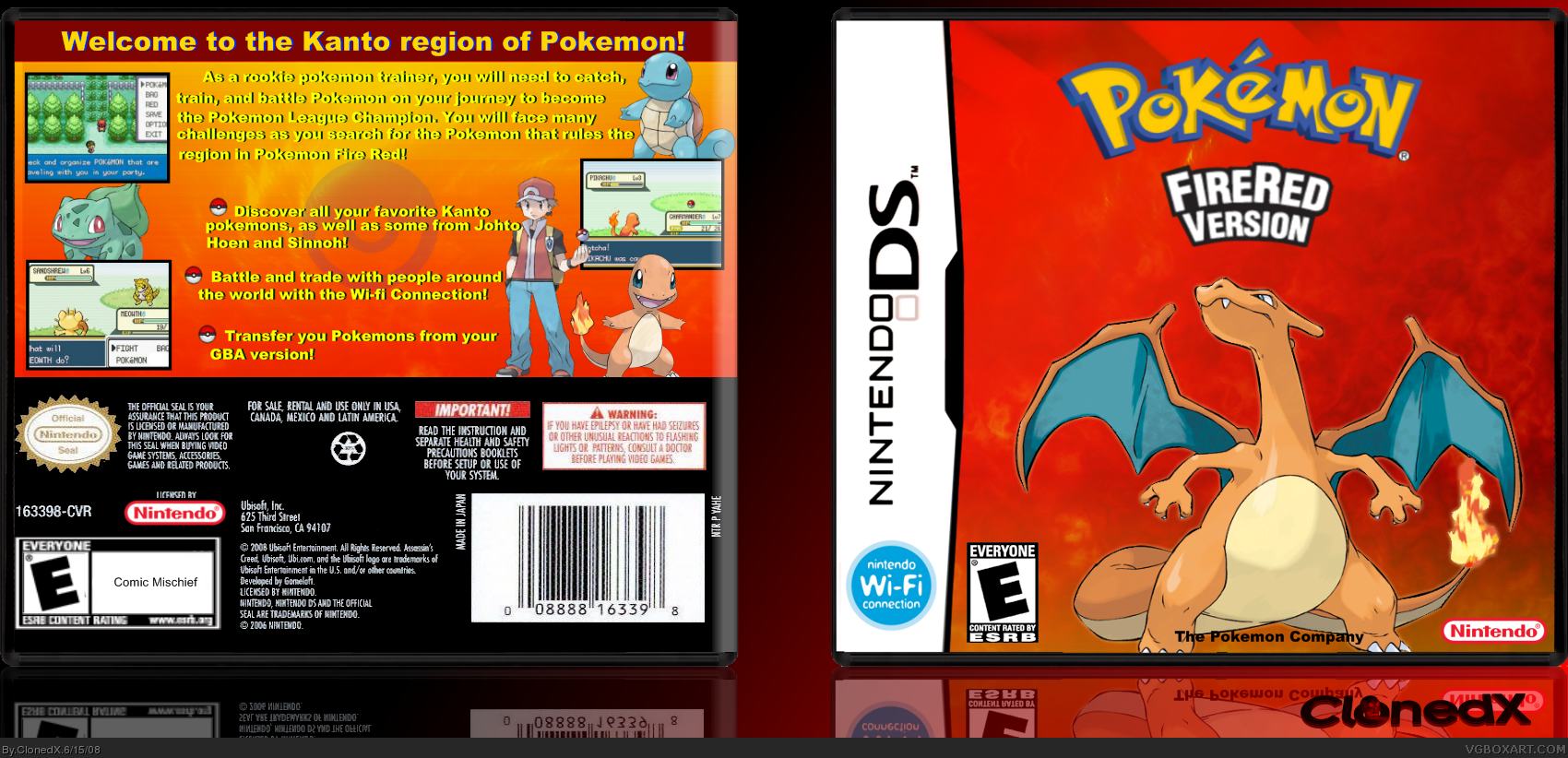 Pokemon firered rojofuego gba rom pokemon firered version and pokemon