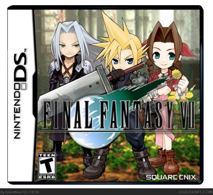 CGR Undertow - FINAL FANTASY III review for Nintendo DS ...