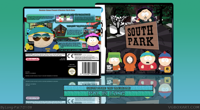South Park box art cover