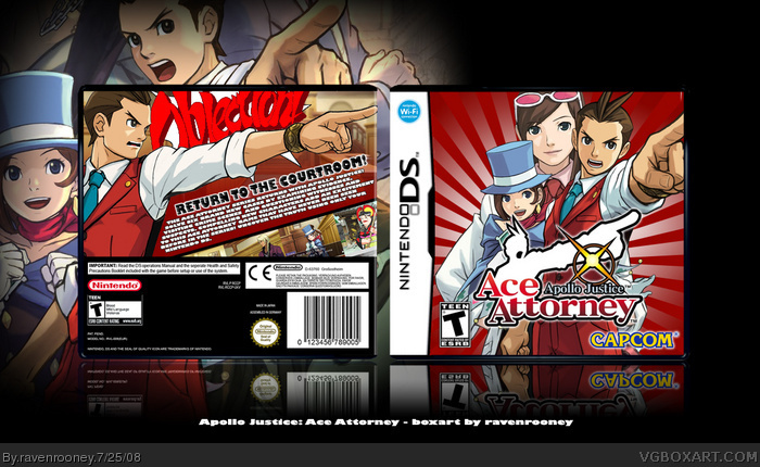 Apollo Justice : Ace Attorney box art cover