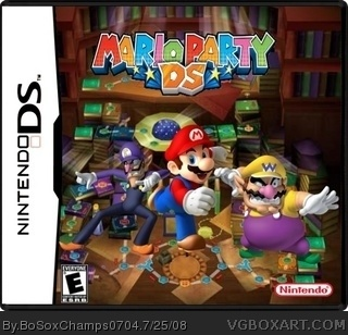 Mario Party DS box art cover
