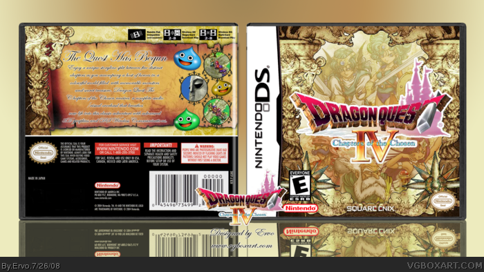 Dragon Quest IV: Chapters of the Chosen box art cover