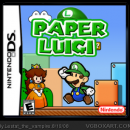 Paper Luigi Box Art Cover