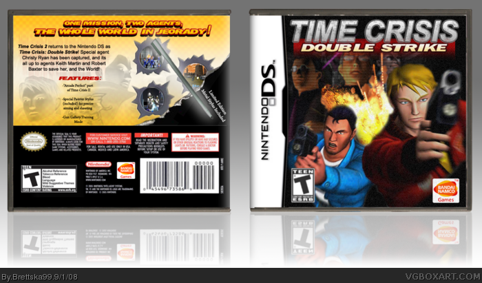 Nintendo DS » Time Crisis: Double Strike Box Cover