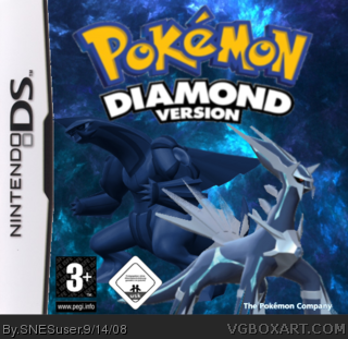 Pokemon Diamond box cover