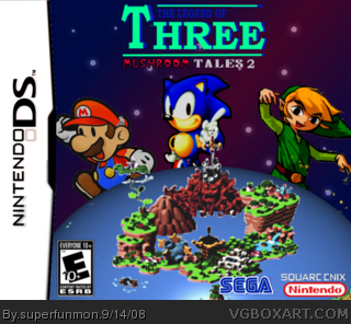 The Legend of Three-Mushroom Tales 2 box art cover