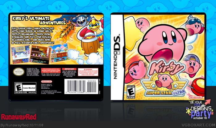 Kirby: Super Star Ultra Box by PandaDawg on DeviantArt |Kirby Super Star Box