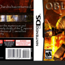 The Elder Scrolls DS: Oblivion Box Art Cover