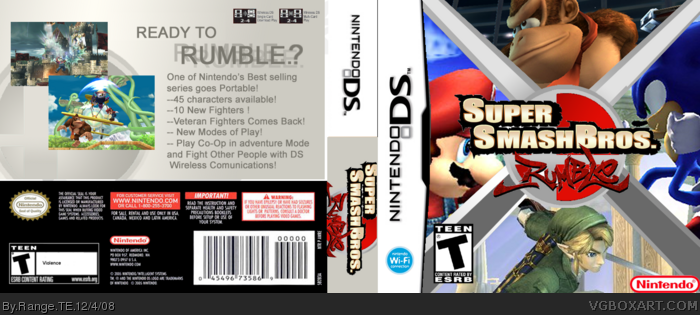 Super Smash Bros Rumble Ds