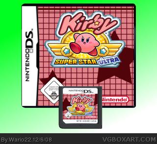 Kirby Super Star SNES Super Nintendo Game Case Box Cover ... |Kirby Super Star Box