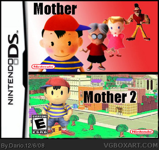 Mother 1+2 Nintendo DS Box Art Cover by Dario