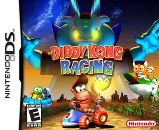 Diddy Kong Racing Nintendo Ds Box Art Cover By Titrotu
