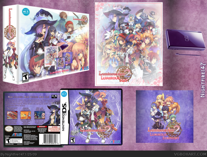 Luminous Arc 2 box art cover