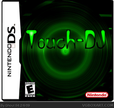 touch dj nintendo ds box art cover by ghoul 56
