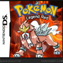 Pokemon Legend Red Box Art Cover