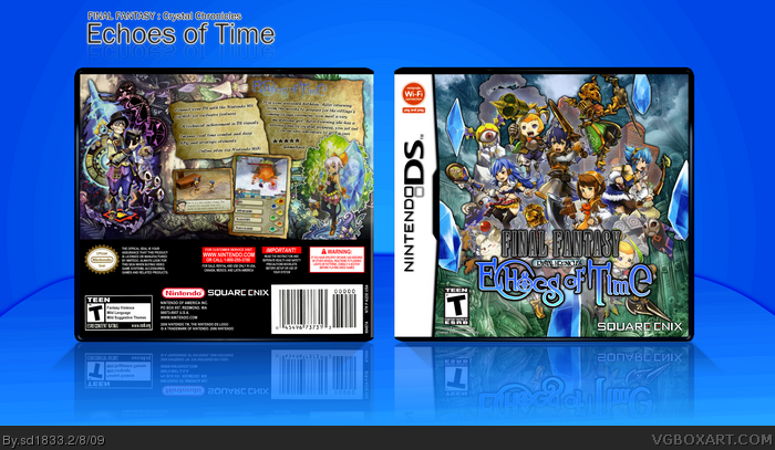 Final Fantasy Crystal Chronicles Echoes of Time box art cover