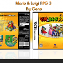 Mario & Luigi RPG 3 Box Art Cover