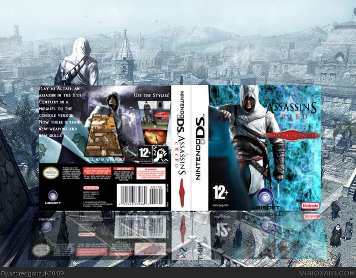 Nintendo DS » Assassin's Creed: Altair's Chronicles Box Cover ? ?