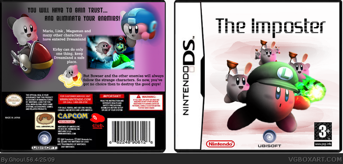The Imposter box art cover