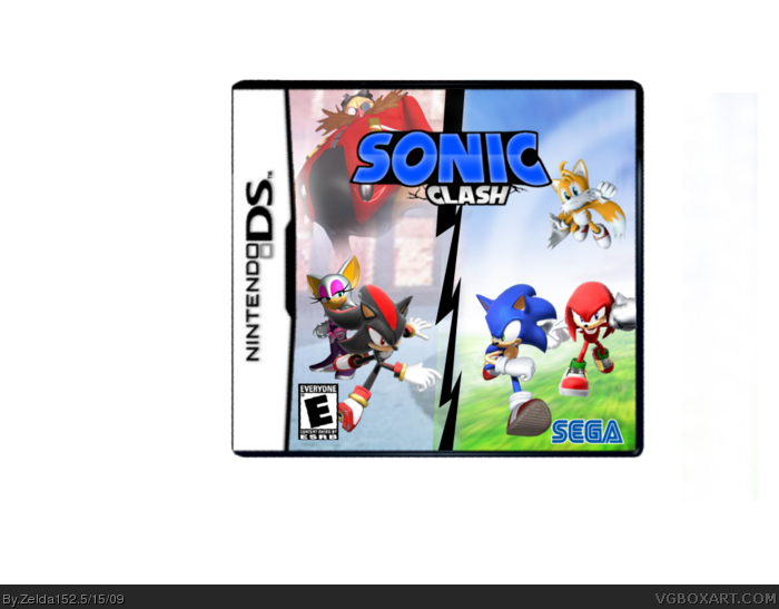 Sonic Clash box art cover