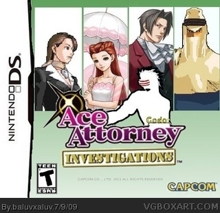 Ace Attorney Investigations:Godot/Gyakuten Kenji 2 box cover