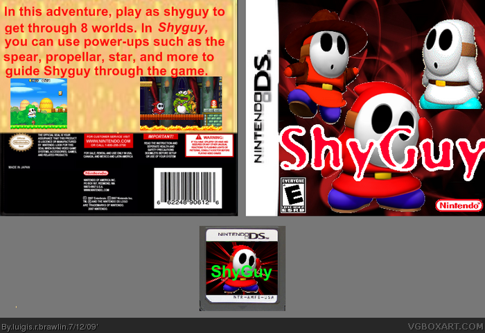 ShyGuy box art cover