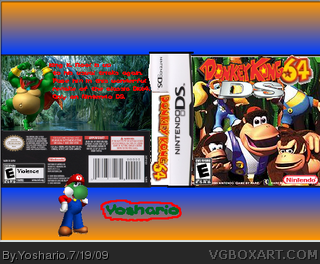 Donkey Kong 64 DS box cover