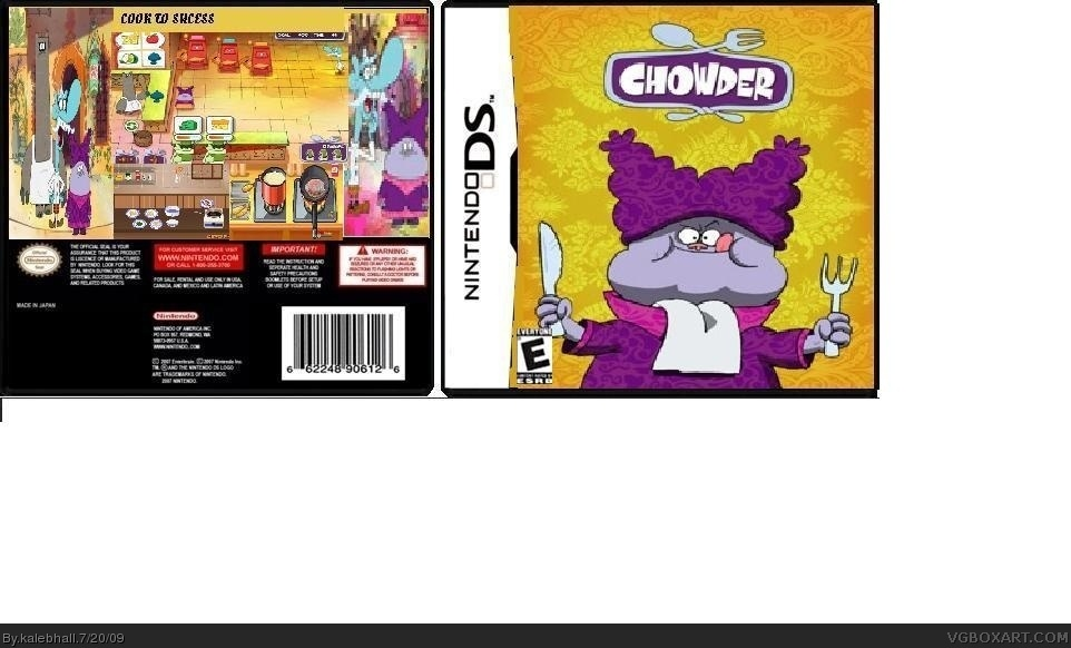 chowder box cover