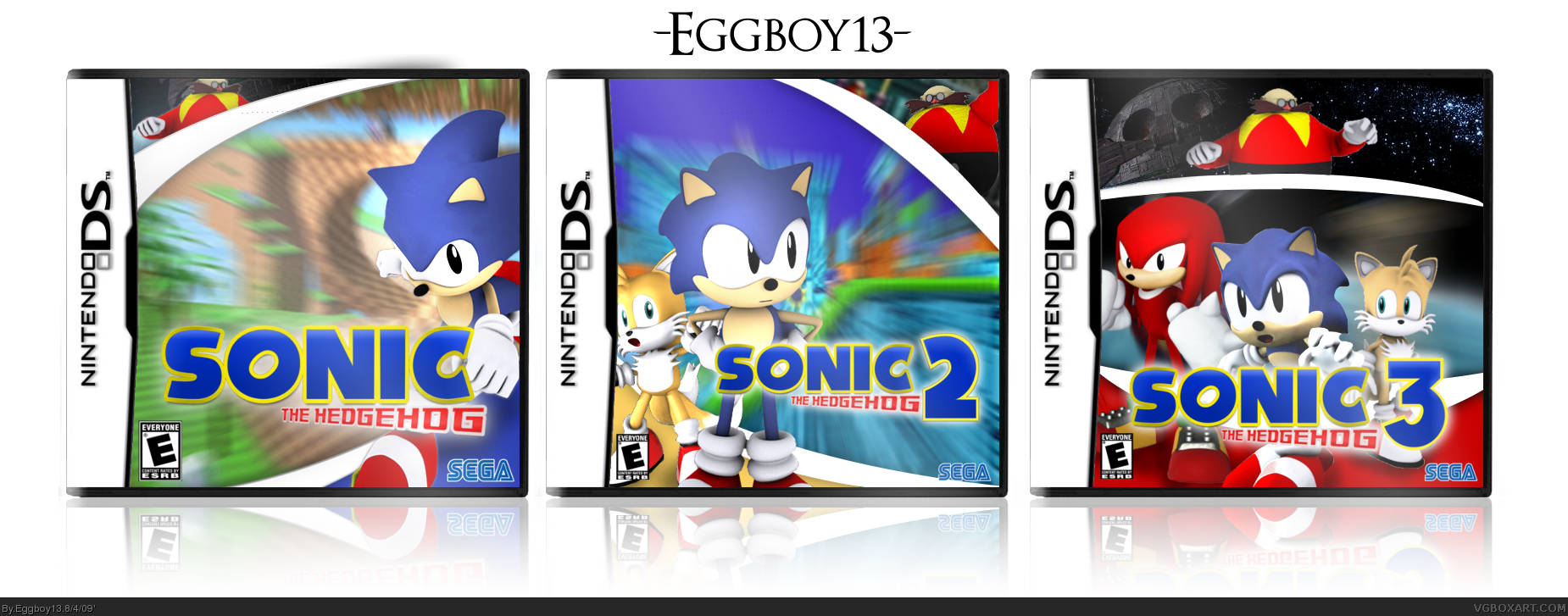 Viewing Full Size The Sonic Hedgehog Remake Collection