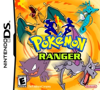 ranger the road to and pearl nintendo ds box cover by warlach