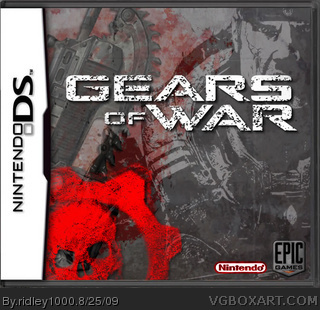 Nintendo DS » Gears of War Box Cover
