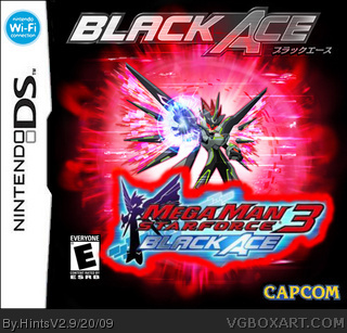 Megaman star force 3 Black Ace box cover