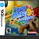 Super Mario Sunshine DS Box Art Cover