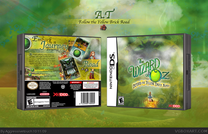 The Wizard of Oz: Beyond the Yellow Brick Road box art cover