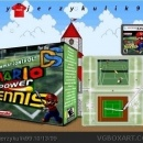 Mario Power Tennis DS Box Art Cover