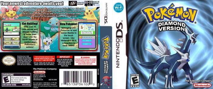 pokemon diamond rom for my boy