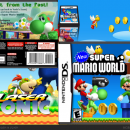 New  Super Mario world Box Art Cover
