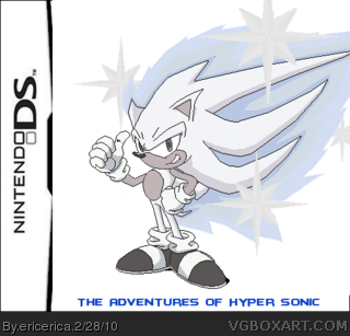 The adventures of Hyper Sonic box cover