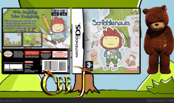 Nintendo DS » Scribblenauts Box Cover