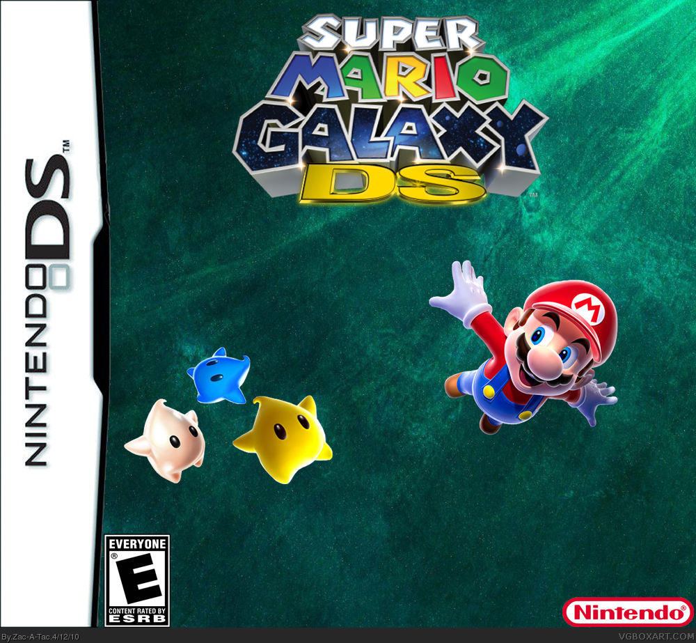 NDS Super Mario Galaxy DS  RF  ESP  LB