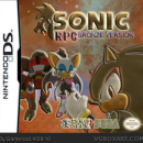 Sonic RPG Bronze version Box Art Cover